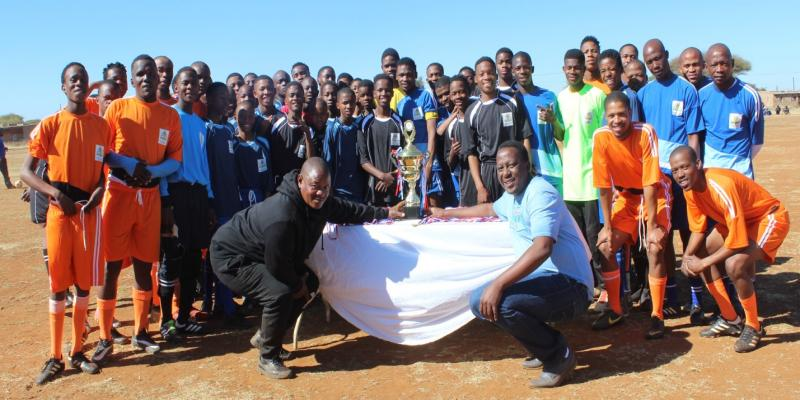 "Makolomakwa donates soccer kit to Youth in Commemorating ""100 Year Nelson Mandela Centenary"""